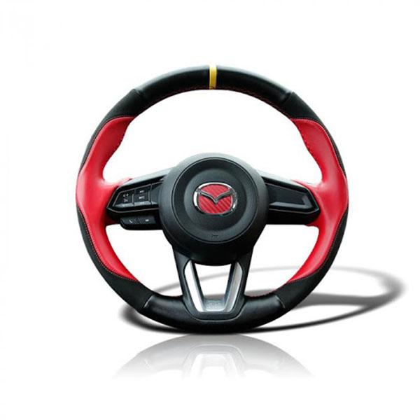 Bọc da vô lăng Mazda 3