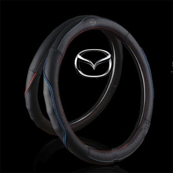 Bọc da vô lăng Mazda 3 - XeHoiAZ