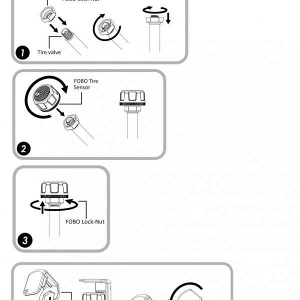 Cảm biến áp suất lốp Fobo X-tra - XeHoiAZ